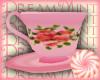 Pink Floral Teacup Tea