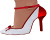 Stas-Red/White Heels