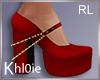 K red heels xmas