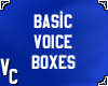 Basic Voiceboxes