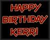 KERRI birthday balloons