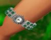 Emerald Ladies Watch