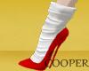 !A Adva Shoes red