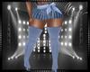 Blue Skirt&Boots