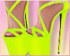Neon Lime Heels