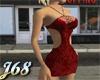 J68 Gina Red Floral