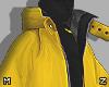 Yellow Big Coat M
