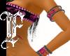 *F HP Tribal Bling Cuffs