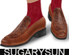 /su/ CARVED LOAFER SOCK