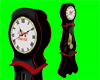 [AR]Working clock Black