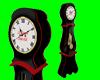 [AR]Working clock Black
