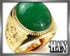 [H]Gold Ring ► Jade