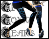 TTT Tribal Skinnies~Blue