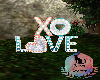 XO Love Marquee Sign