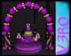 V} Royal Baby Showr Cake