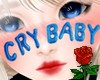 Cry Baby Face Blue