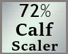 Calf Calves 72% Scale MA