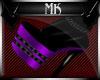 !Mk! Bat Boots Purp Thin