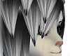 Neko[grey-->black tips]