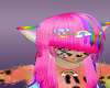 rainbow leapord skin