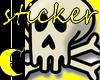 Skully Sticker