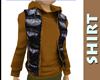 Light Brown Hoody Shirt