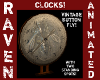VINTAGE BUTTON FLY CLOCK