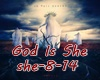 `A` God Is She