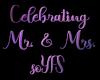 Our Wedding Podium