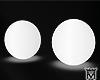 MayeWhite Neon Balls