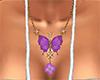 Purple Butterfly Jewelry
