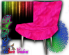 Chair vintage pink