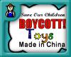 Boycott Toys made China