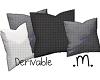 .m. Deriv. 4 pillows
