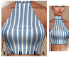 Striped Turtle Crop - M
