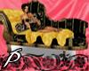 Royal Gold love seat