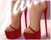 ✰SatinHeels RED