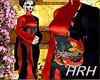 HRH Red Fish Kimono