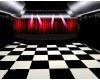 Checkered Gig Room