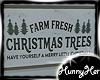 Christmas Trees Sign V2