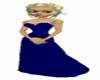 clbc blue evening dress