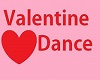 valentine dance table