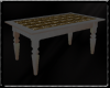 Stone wood table