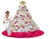 Pinky Christmas Tree