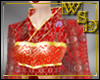 Chinese Empress Red Gown