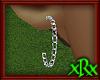 Chain Hoop Earrings Slvr