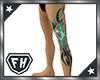 [M] Ice Tribal Tattoo L