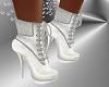 FG~ White Glitter Boots