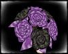 PURPLE & BLACK ROSES