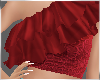 Ruffle Top Red Lucky